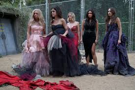 Halloween Prom Costumes Liars Destroyed Prom Dresses Pretty Liars