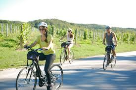 biking in summer traverse city mi