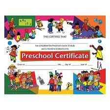 preschool certificates publishing va924 preschool certificates schoolsin