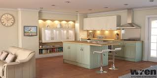 wren kitchens contemporary kitchen