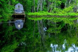 Massachusetts national parks images Amusement parks minute man national park lake house concord jpg