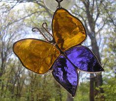 stained glass butterfly l red stained glass sun catcher butterfly by fleetingstillness 19 99