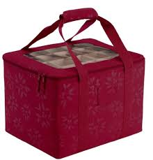 Christmas Ornament Storage Box With Dividers christmas ornament storage box only 13 90 shipped regularly 22