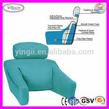cuscino per leggere a letto f028 regolare sostegno per la schiena cuscino tv cuscino lettura