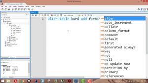 alter table not null how to add columns using alter table command in mysql youtube