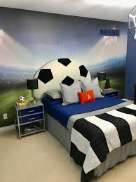 soccer decorations for bedroom bedroom football soccer themed for kids room design with cozy