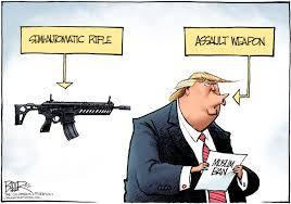 Nate Beeler Cartoons Beeler Cartoon Trump U0027s Assault Weapon