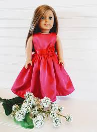 flower girl doll gift american girl doll dress flower girl gift bridal party wedding