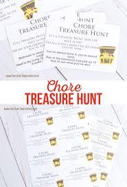 chore treasure hunt the crafting