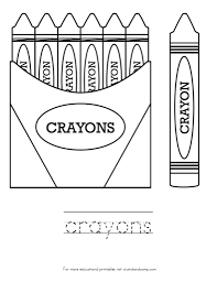 crayon bookmark coloring page crayola with make your own crayons