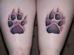 dog paw print tattoos on wrist photo 9 2017 real photo