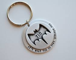 personalized keychain gifts batman keychain christmas gifts for personalized