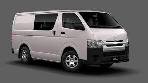 toyota wheelbase range specifications hiace vans commuter buses toyota australia