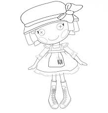 lolaloopsy coloring pages children