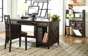 Bush Cabot Corner Computer Desk Espresso Computer Desk With Hutch Bush Cabot Corner In Oak Finish