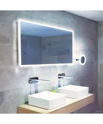 hib globe 120 led illuminated bathroom mirror 1200 x 600mm