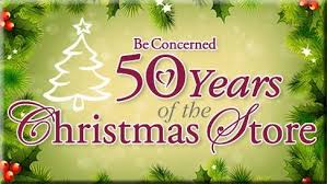 be concerned s 50th store set for december 5 16