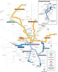 Portland Light Rail Map by Could The 30 10 Initiative Work For The Denver Area And Other