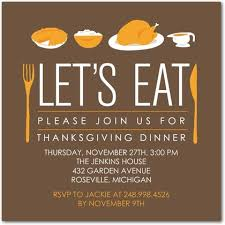 modern meal thanksgiving invitation http www