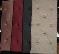 premium fabric piano bench cushions u0026 pads free shipping