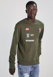 indicode jeans keon sweatshirt capers men best value ij022s00l
