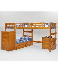 l shaped bunk beds with desk here s a great deal on woodcrest heartland l shaped loft bunk bed