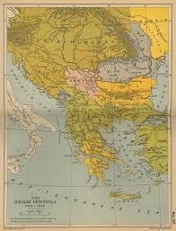Map Of Serbia Map Of Principality Of Serbia The Full Wiki
