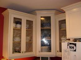 Glass Kitchen Wall Cabinets Replacing Kitchen Cabinet Doors With Glass Tehranway Decoration