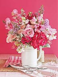 Drawings Of Flowers In A Vase 5 Minute Flower Arrangements Fast And Easy Accents From Bhg Com