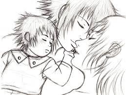 sketch my beloved family by desertrose69 on deviantart