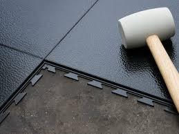 Interlocking Rubber Floor Tiles Rubber Floor Tiles For Garage Ourcozycatcottage Com
