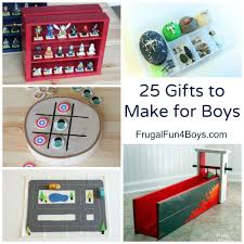 25 more homemade gifts to make for boys homemade gift and