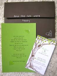 Tree Wedding Invitations The Giving Tree Wedding Invitations Might Make You Cry Offbeat Bride