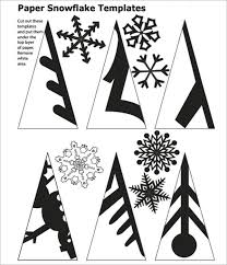 How To Make A Snowflakes Out Of Paper - 25 unique snowflake template ideas on paper snowflake