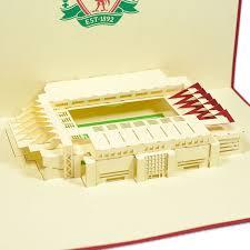 liverpool stadium 3d card 3d football card pop card supplier charmpop