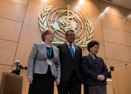 who photos from day 2 seventieth world health assembly