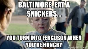 baltimore eat a snickers meme mne vse pohuj