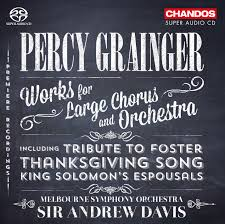 download thanksgiving songs grainger works for large chorus and orchestra choir orchestral