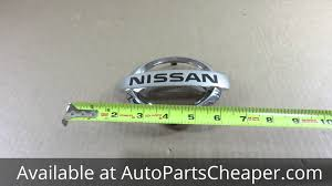 nissan clipper 2007 new nissan 2007 2012 altima front grill emblem factory genuine