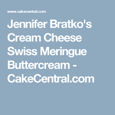 jennifer bratko u0027s cream cheese swiss meringue buttercream