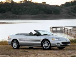 chrysler sebring convertible specs 2001 2002 2003 autoevolution
