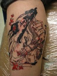 tattoo yakuza lengan unique samurai tattoo