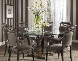 Modrest Crawford Modern Rectangular Glass Dining Table Modern - Glass dining room table set