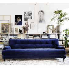 white leather sofa bed ikea dark blue sofas mahogany wood square coffee table cream foam sofa