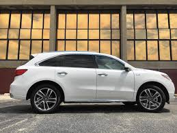 acura mdx vs lexus nx review 2017 acura mdx sport hybrid is a smooth three row marvel