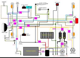 1970 honda cl350 simplified wiring help