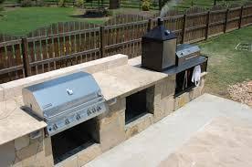 kitchen fresh outdoor kitchen designs with smoker designs and