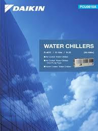 water chiller air conditioning heat exchanger