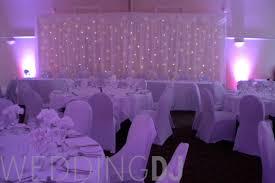 wedding backdrop hire wedding dj gloucestershire starcloth backdrop hire black