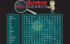 make own word search halloween word search chrome web store
